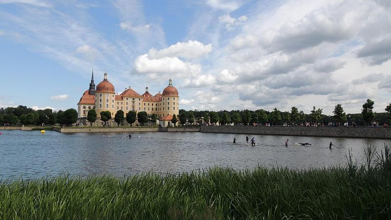 Kulisse Schloss Moritzburg