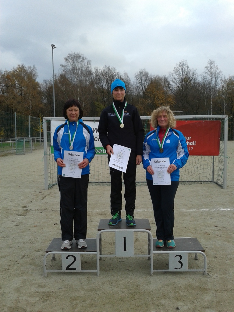 Marina holt den Titel in ihrer Altersklasse