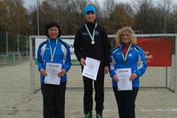 Marina wird Altersklassensiegerin beim Crosslauf in Bautzen